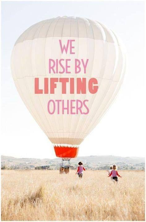 We rise by lifting others Picture Quote #2
