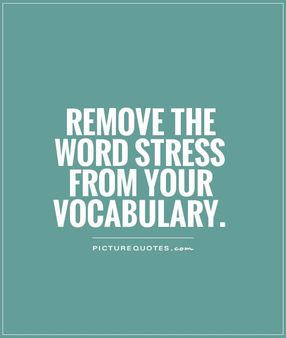 Stress Quotes: Anxiety Quotes And Sayings. QuotesGram