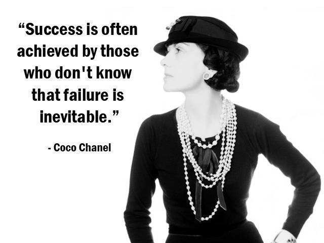 Success is often achieved by those who don't know that failure is inevitable Picture Quote #1