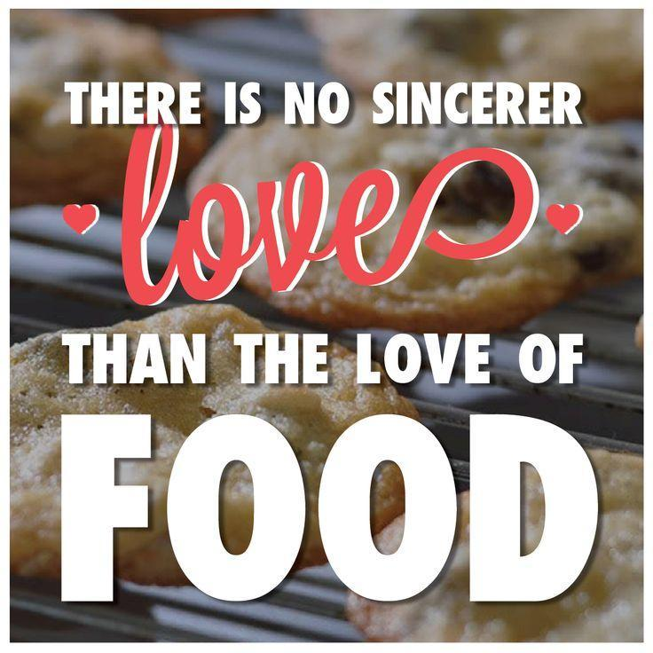 There is no sincerer love than the love of food Picture Quote #1