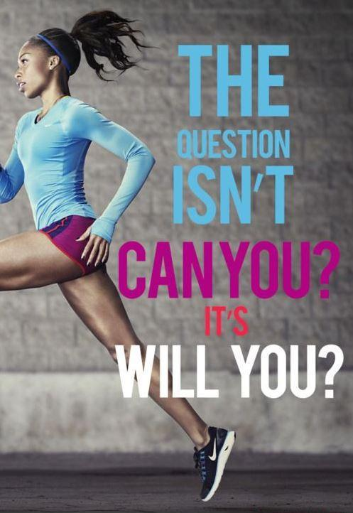 The question isn't can you, it's will you Picture Quote #2