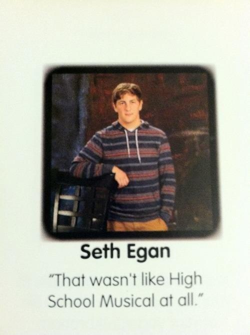 This wasn't like high school musical at all Picture Quote #1