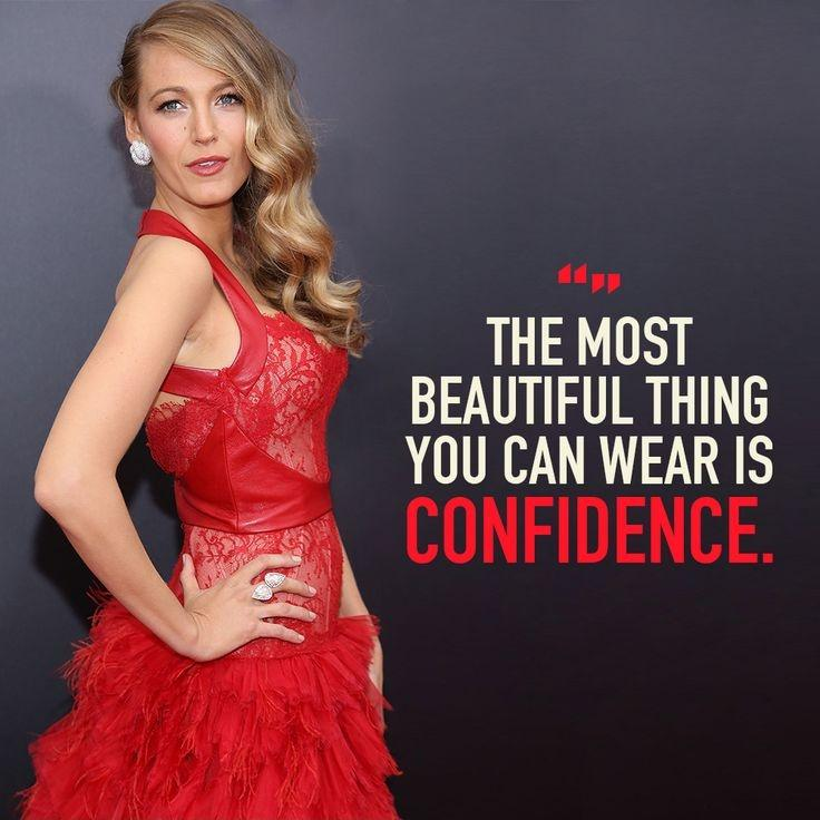 The most beautiful thing you can wear is confidence Picture Quote #1