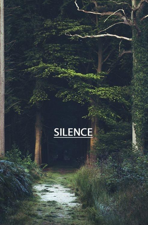 Silence Picture Quote #1
