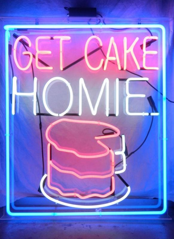 Get cake homie Picture Quote #1