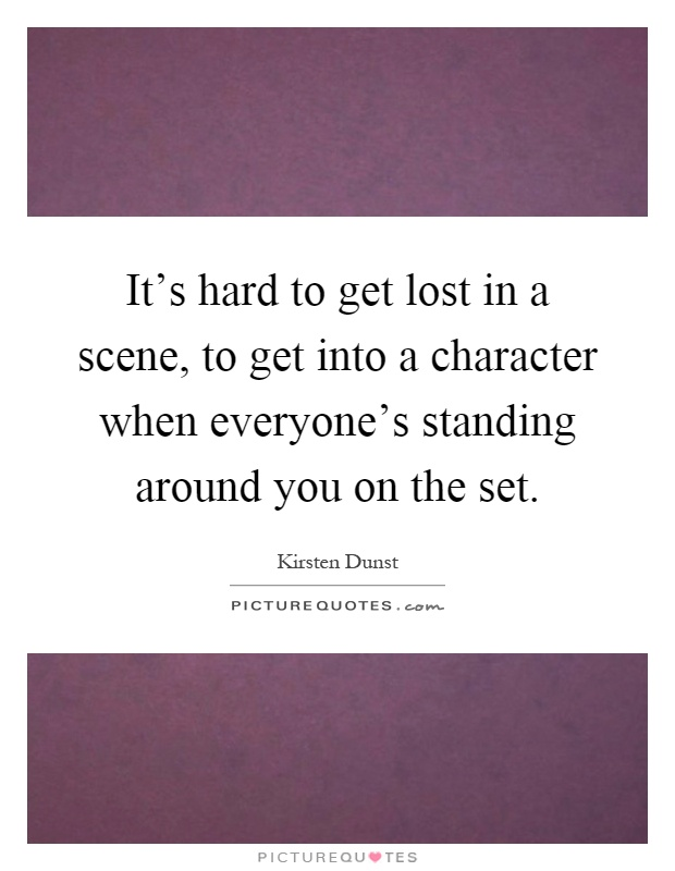 how to get into character when acting