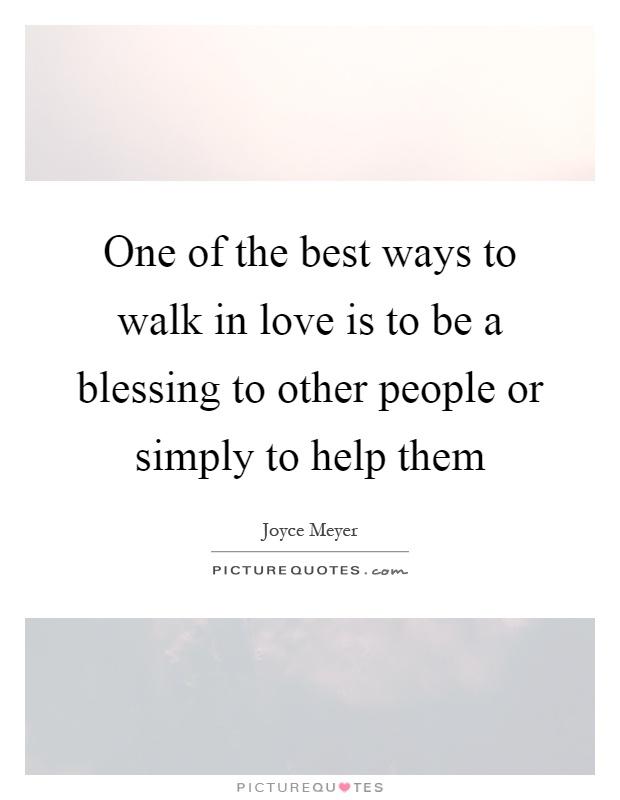 how to walk in love joyce meyer pdf
