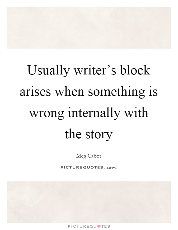 Block Picture Quotes