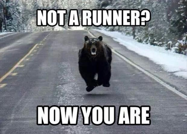 Not a runner? Now you are Picture Quote #1