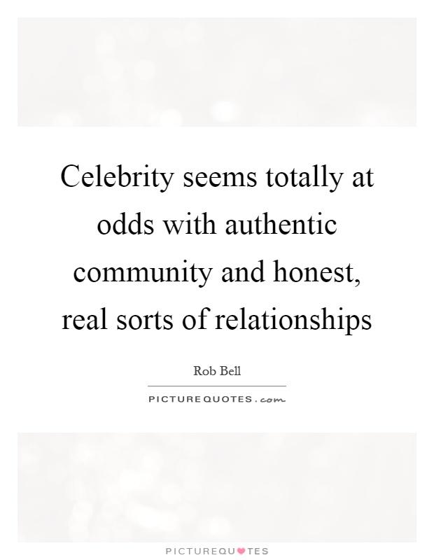 Odds dating celebrity
