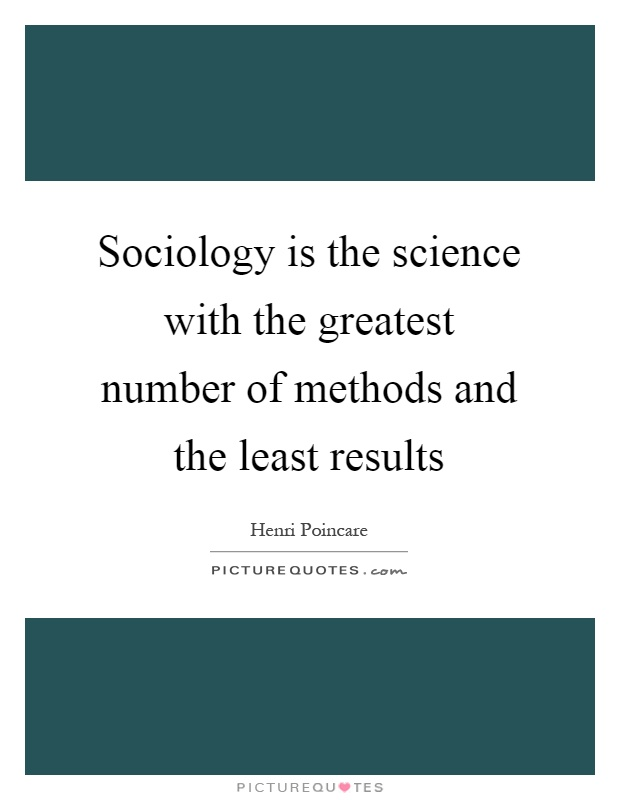 is sociology a science An area of inquiry is a scientific discipline if its investigators use the scientific method, which is a systematic approach to researching questions and proble.