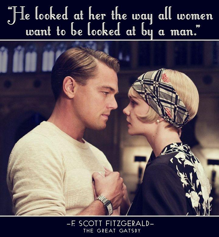 He looked at her the way all women want to be looked at by a man Picture Quote #1