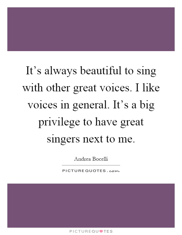 how to have a great voice to sing