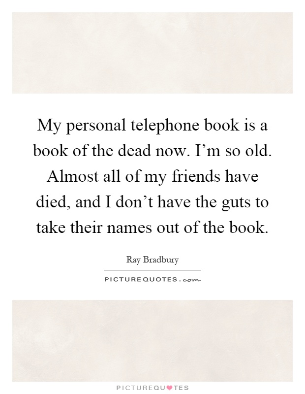 personal telephone book