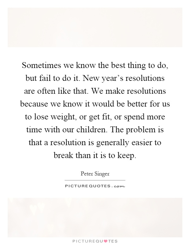 New Years Resolution Quotes & Sayings | New Years Resolution Picture ...