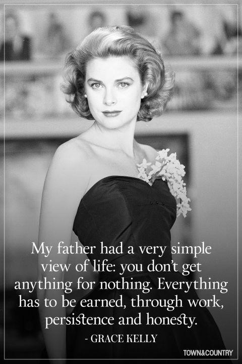 My father had a very simple view of life: you don't get anything for nothing. Everything has to be earned, through work, persistence and honesty Picture Quote #1