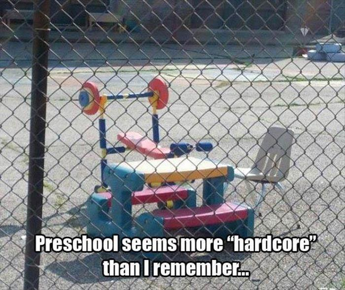 Preschool seems more