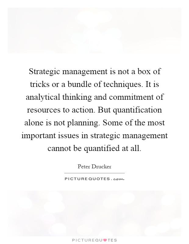 peter drucker strategic management pdf