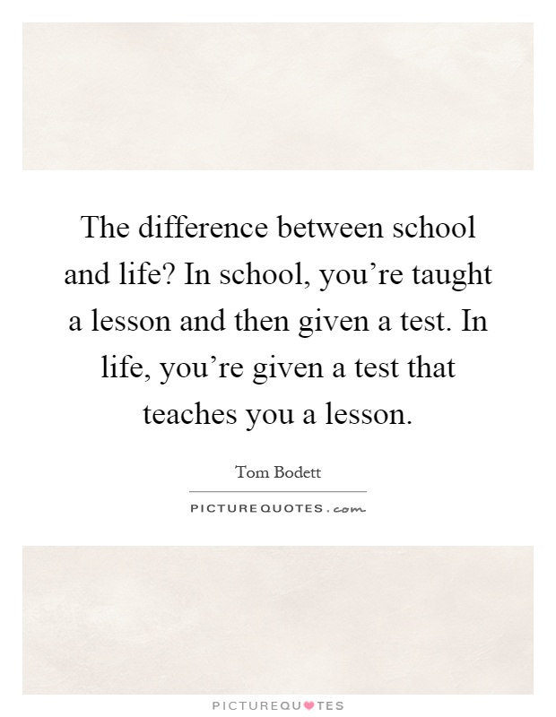 difference between school life and college life good argument topics