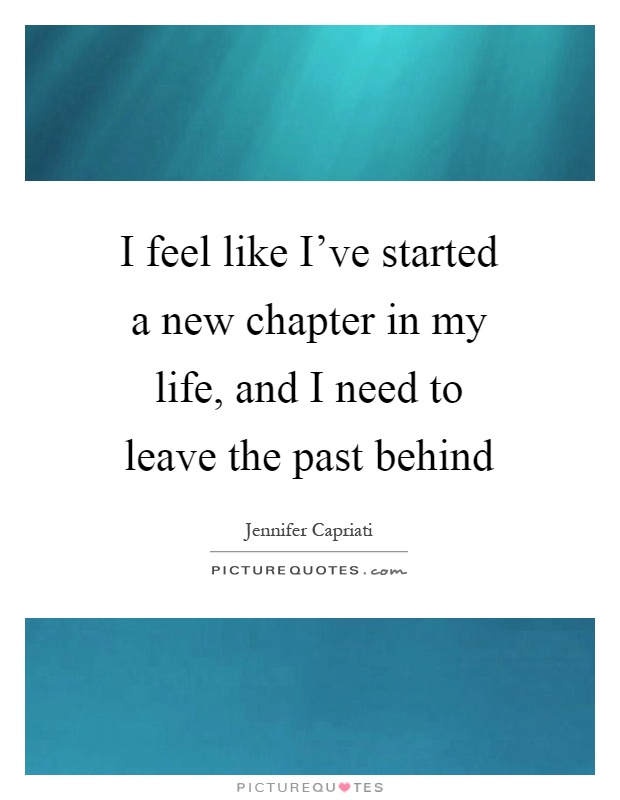 leave the past behind This week's post will help you leave the past behind so you can move toward your ideal future with hope and excitement.