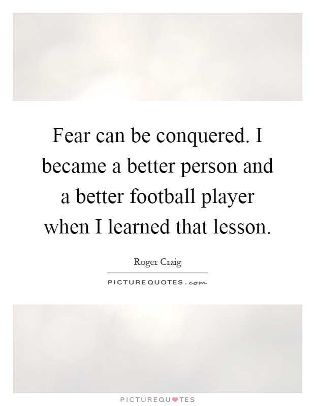 how to become a better football player