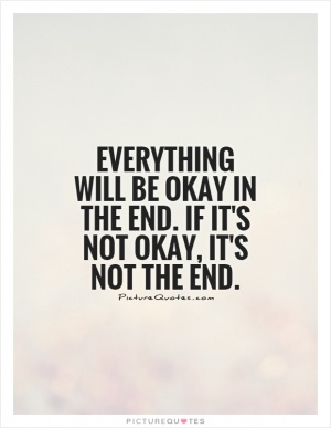 Note to self. Everything is going to be okay quote  Picture Quotes & Say...