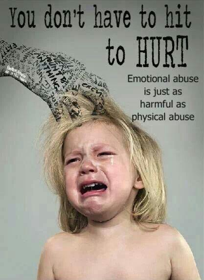 You don't have to hit to hurt. Emotional abuse is just as harmful as physical abuse Picture Quote #1