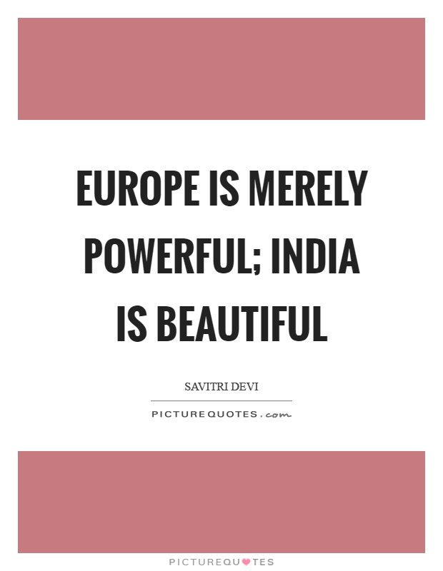 european indian relationship quotes