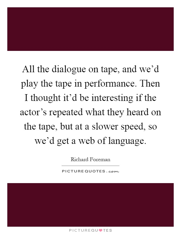 All the dialogue on tape and we d play the tape in for 1 2 34 get on the dance floor lyrics