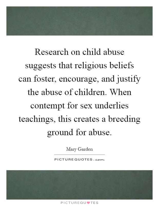Child abuse essay thesis