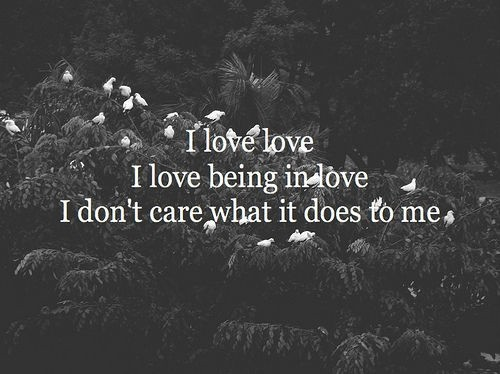 Being In Love Quote Picture Quote #1