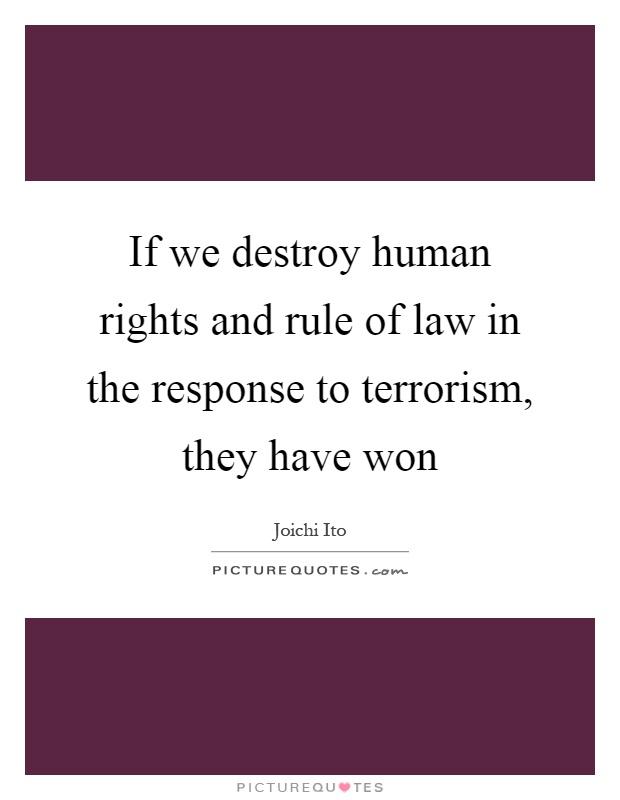 Human rights law essay