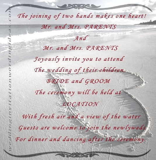 wedding invitation quote quote number 536456 picture quotes