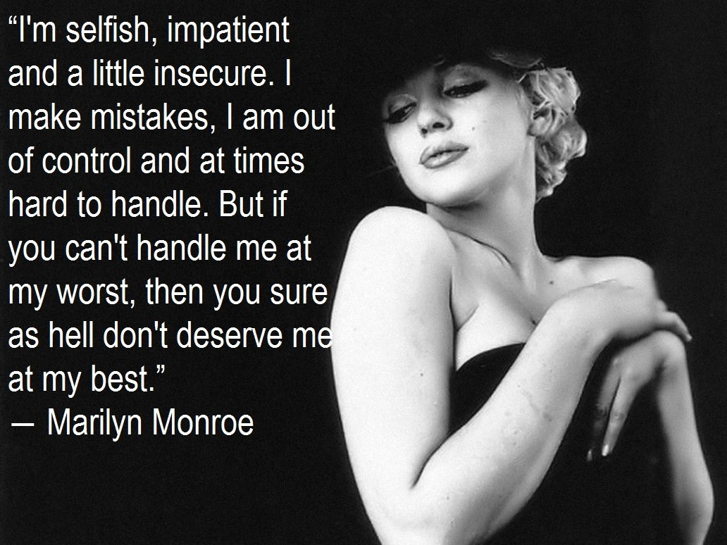 Marilyn Monroe Quote Quote Number 537079 Picture Quotes