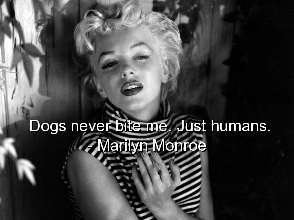 Marilyn Monroe Quote Picture Quote #1