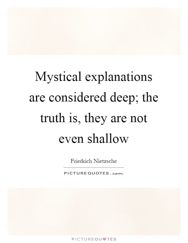 Explanations Quotes & Sayings