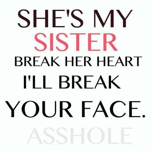 Sister Quote Picture Quote #1 · I Love My Big Sister Picture Quote #1