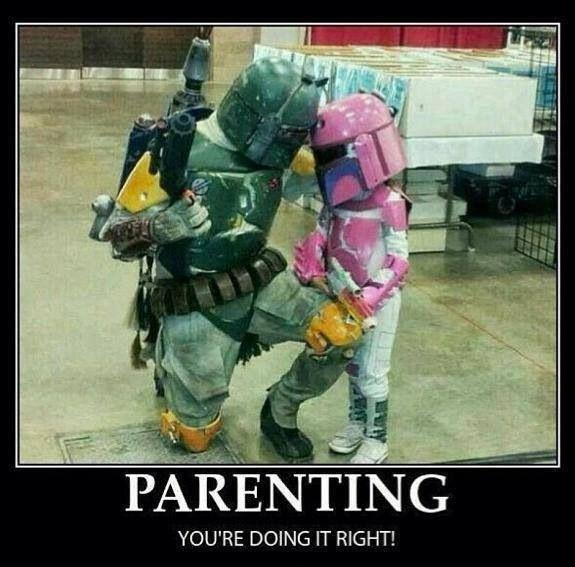 Parenting. You're doing it right! Picture Quote #1