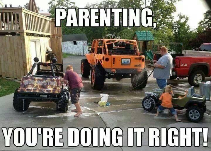 Parenting. You're doing it right! Picture Quote #2