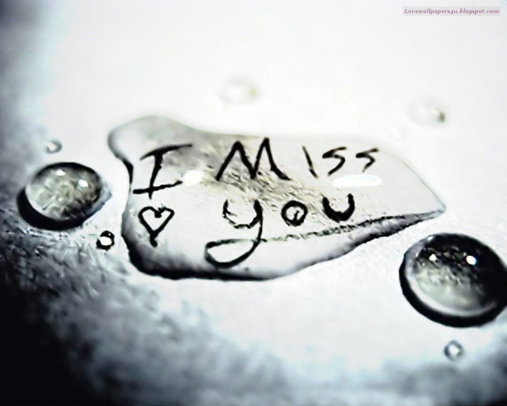 I Miss You Quote Picture Quote #1