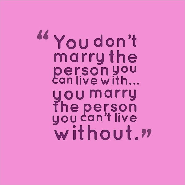 Marriage Quote Picture Quote #1