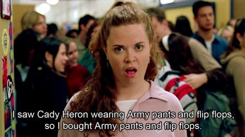 Mean Girls Quote Picture Quote #1