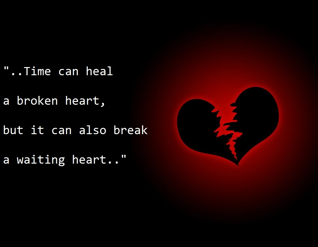 Quotes For A Broken Heart Broken Heart Quote  Quote Number 540135  Picture Quotes