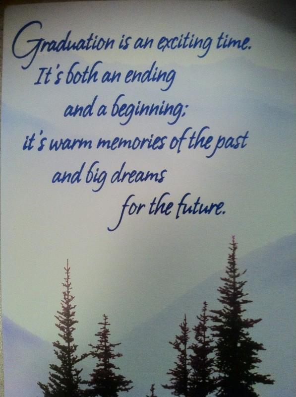 Graduation Quote Picture Quote #1