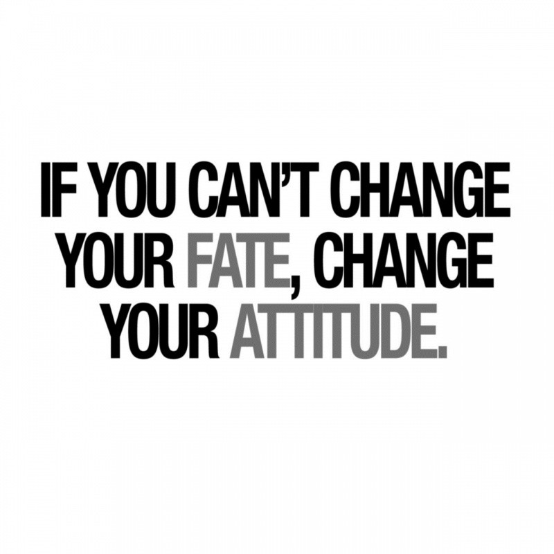 Bad Attitude Quotes Gorgeous Attitude Quote  Quote Number 540225  Picture Quotes