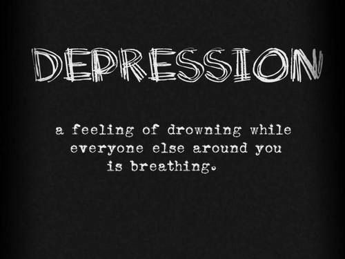 Depression Quote Picture Quote #1