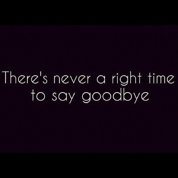 Goodbye Quote Picture Quote #1