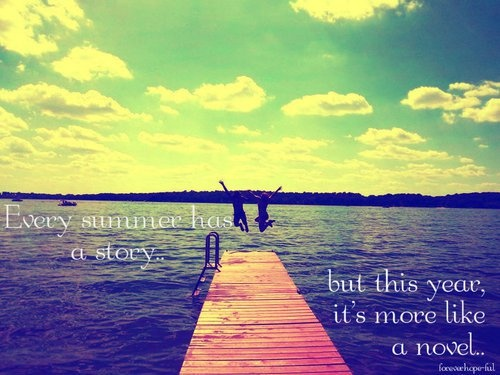 Summer Quote Picture Quote #1