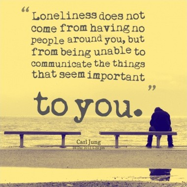 Lonely Quote Picture Quote #1