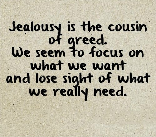 Jealousy Quote Picture Quote #1
